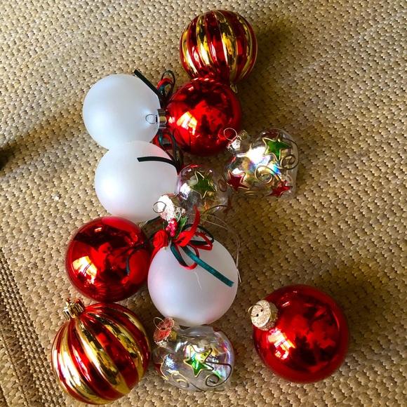 Vintage Assortment 11 Christmas Ornaments